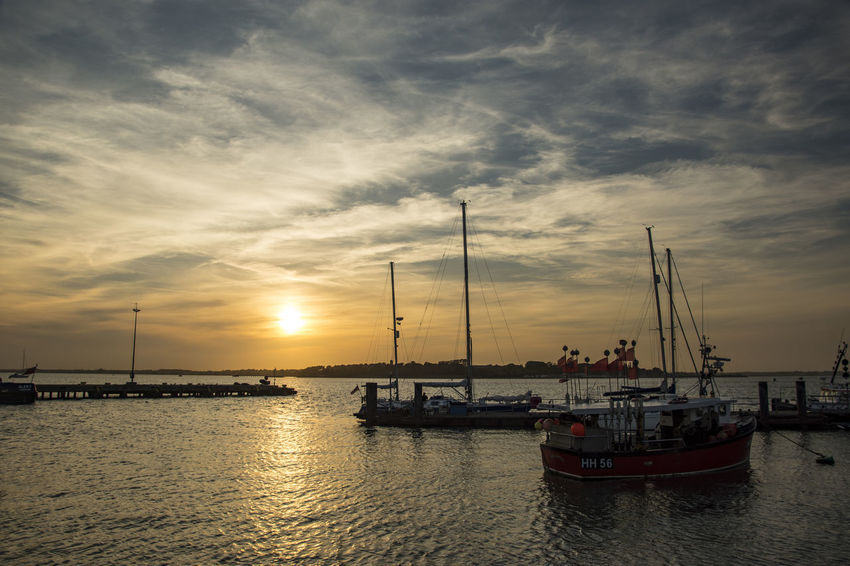 Sunset over the Stour Estuary, Harwich, England Boats Clouds Coast Costa Rica Enjoying Life Essex Felixstowe Harwich Sky Stour Estuary Sun Sunset