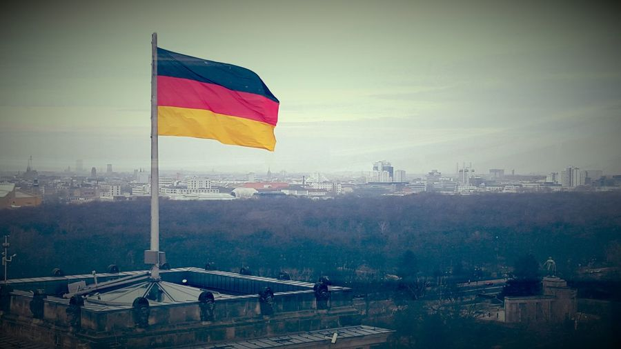 Berlin german flag Flag Outdoors No People Politics And Government Day Capture Berlin