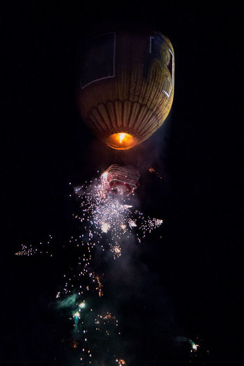 Balloons Burma Color Explosion Drama Dramatic Festival Fire Balloon Fireworks First Eyeem Photo Glowing Hot Air Balloons Myanmar Night Night Lights Night Photography Nightphotography