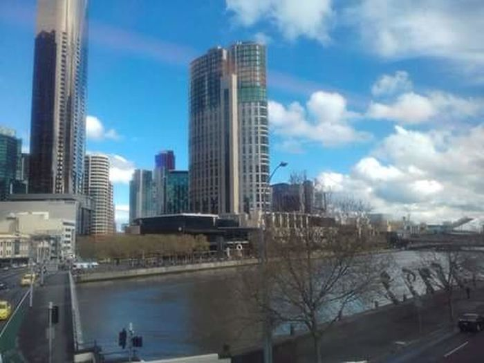 Melbourne City Yarra River Crown Casino