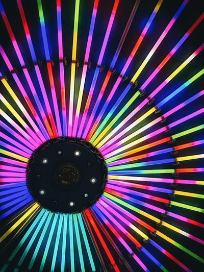 neon led light colourful Neon Light Circle Lamp LED Beauty Bar Ilustration Shine Retro Spectrum Multi Colored Fanned Out Backgrounds Full Frame Pattern Colorful Close-up Rainbow Stained Glass Rose Window Architecture And Art Double Rainbow Architectural Detail Colored Pencil Architectural Design Chandelier Hot Air Balloon Decorative Art Hanging Light