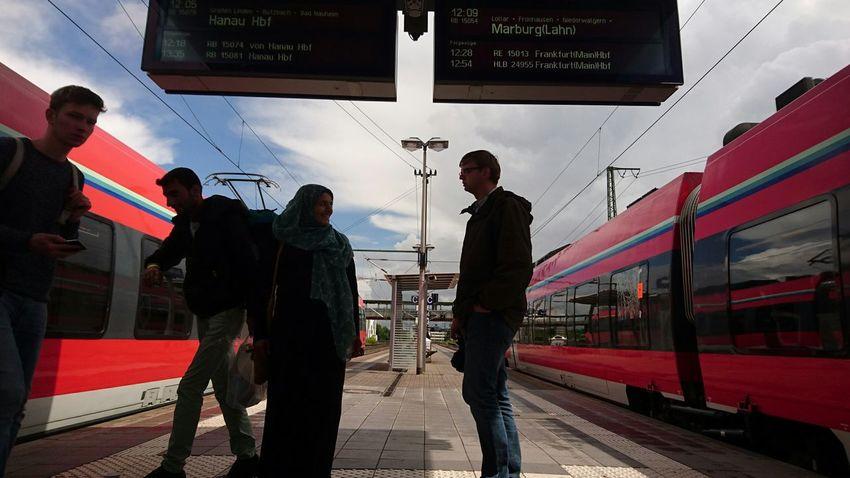 Public Transportation Db Regio Waiting For A Train EyeEm Best Shots - The Streets EyeEm Deutschland For You ;-) Sonyexperia Z5 Hello World Mittelhessen-Express