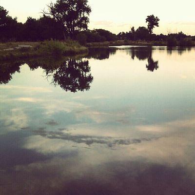 Lake,trees,reflection,calm,settled,park, peaceful,colorado