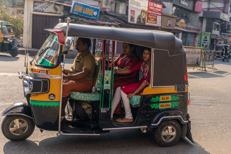 City Day India Kerala Kerala India Kerala The Gods Own Country ;) Kerala, India Land Vehicle Outdoors People Sitting Street Photography Streetphotography Thrissur Transportation Travel Travel Photography Traveling Tuk-tuk TukTuk Tuktuks Women Young Adult Young Women