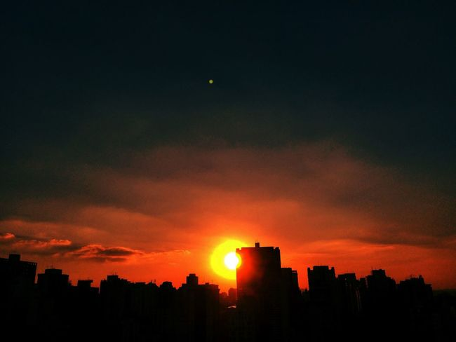 SAO PAULO BRAZIL AUTUMN Architecture Beauty In Nature Built Structure City City Cityscape Cloud Cloud - Sky Dark Dramatic Sky EyeEm Team Idyllic Moody Sky Nature No People Orange Color Outdoors Scenics Silhouette Sky Sun Sunset Tranquil Scene Tranquility Urban