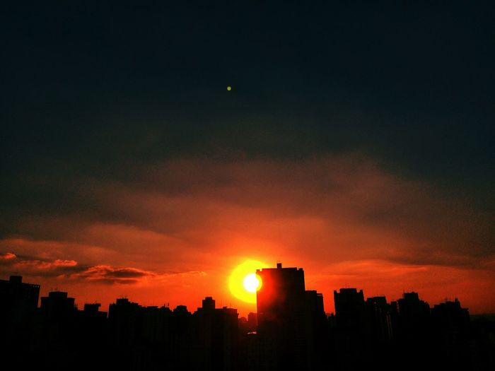 SAO PAULO BRAZIL AUTUMN Architecture Beauty In Nature Built Structure City City Cityscape Cloud Cloud - Sky Dark Dramatic Sky EyeEm Team Idyllic Moody Sky Nature No People Orange Color Outdoors Scenics Silhouette Sky Sun Sunset Tranquil Scene Tranquility Urban
