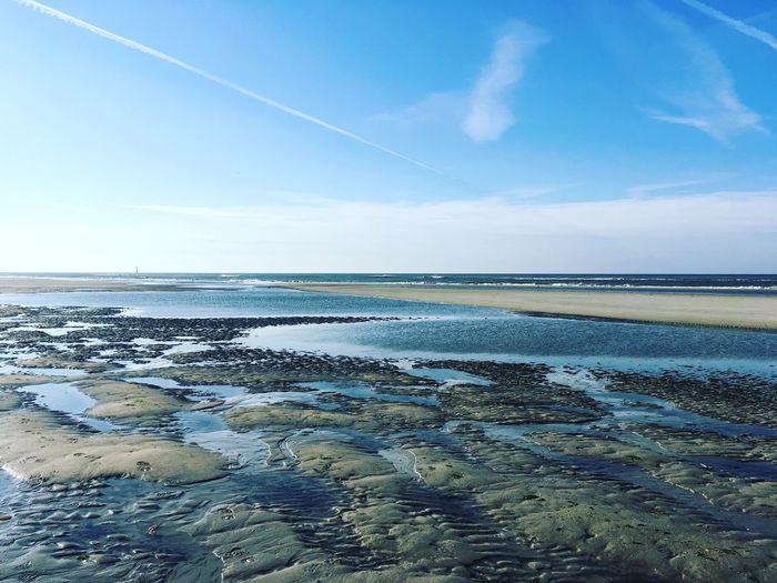 Noordzee Texel  Strand Zee Sea Nature Water Sky