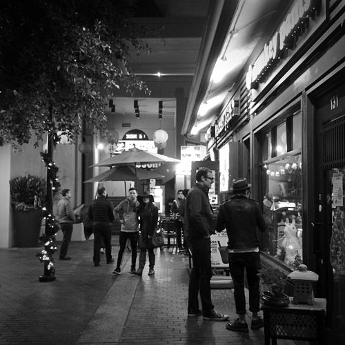 StreetsWithPeople Night Lights Black And White Blackandwhite Night Photography Streetphotography Blackandwhite Photography Monochrome Black & White NEM Black&white