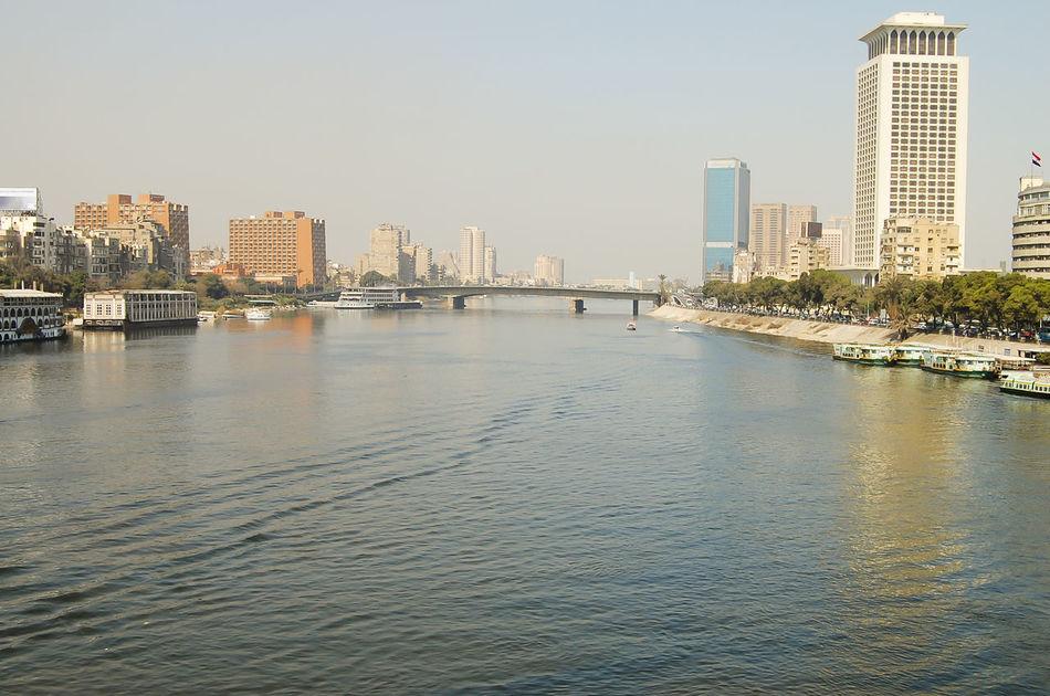 The Nile - Cairo - Egypt Cairo City Egypt Nile River The Nile River Cityscape Nile River Water