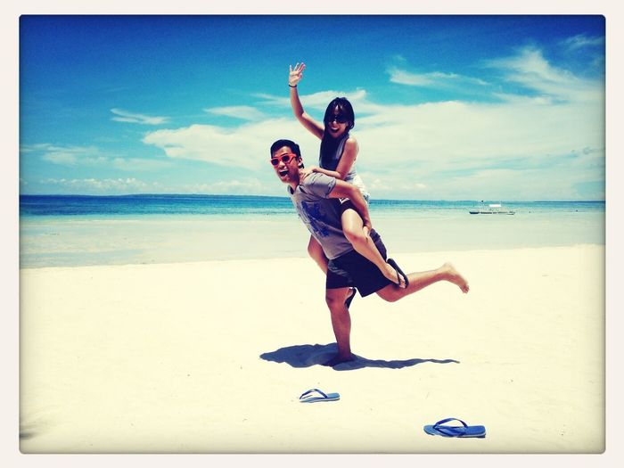 Basking under the sun. BantayanIsland  Islandlife Beachbum