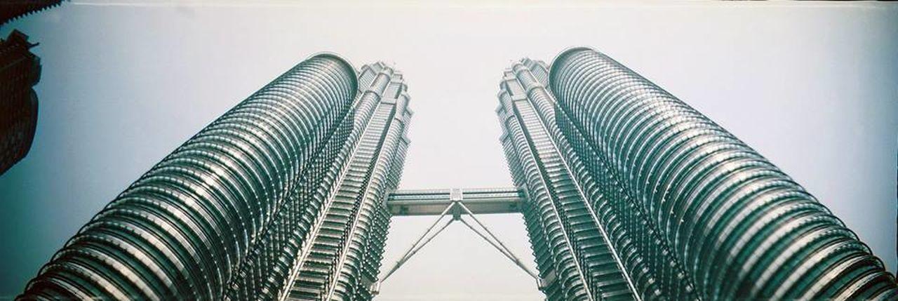 35mm Architecture Film Kuala Lumpur Petronas Twin Towers Skyscraper Sprocket Rocket Panorama The Architect - 2017 EyeEm Awards