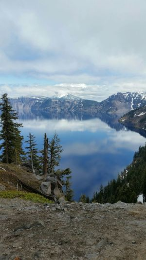 Crater Lake, from our May vacation. Travel Travel Photography Oregon Crater Lake