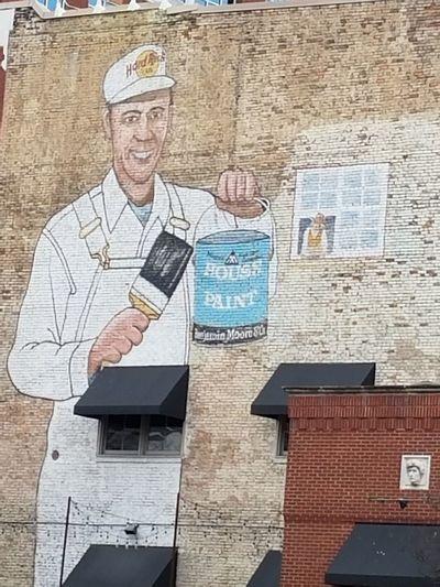 Downtown District EyeEmNewHere Phonetography Nashville TN Building Exterior ArtWork Nofilter Mural Art
