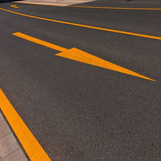 #mark2 Arrow Cross Lines Yellow Colour Asphalt City Day Marks No People Outdoors Road Road Marking Street Yellow Yellow Color Minimalism Minimalist Photography  Minimal