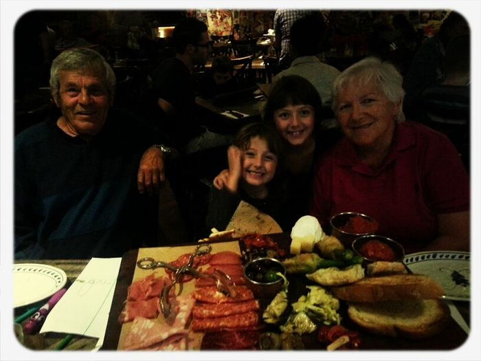 Lovely night with my folks