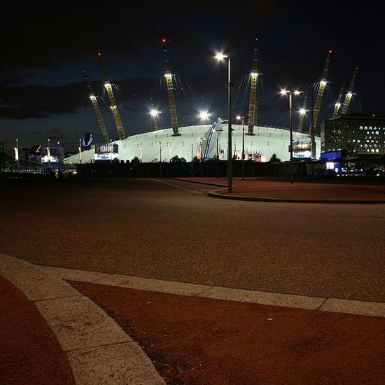 London City O2arenalondon Night