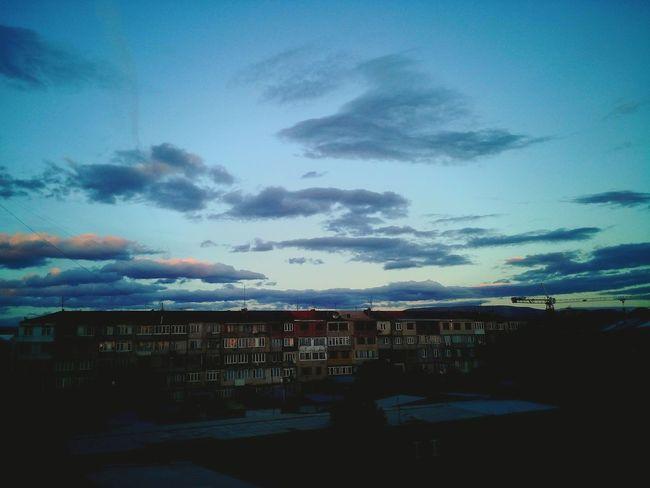 City Sky City Life Cloud - Sky
