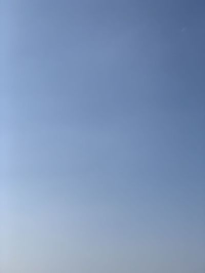 Low angle view of clear sky