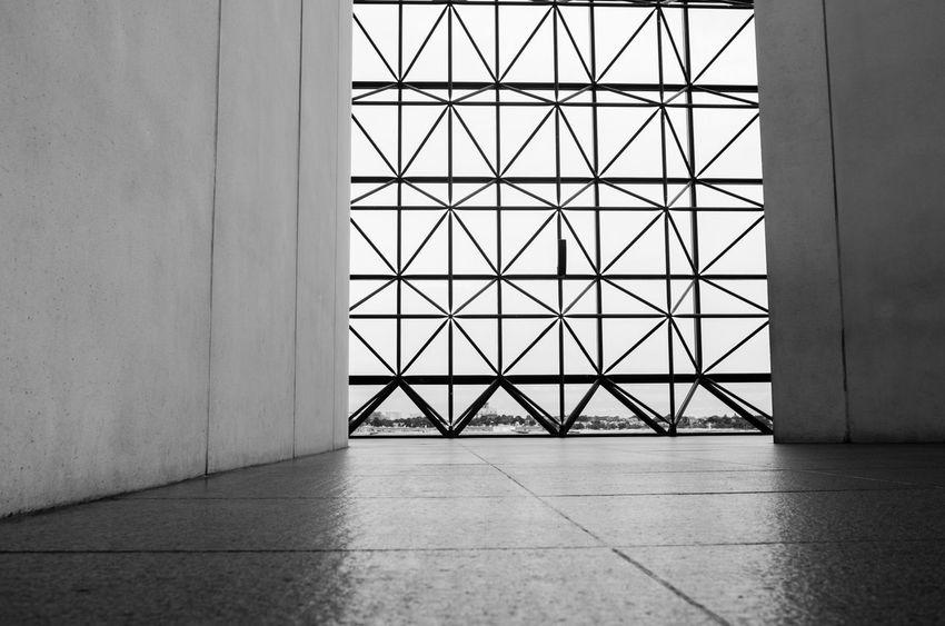 Architecture Boston Flooring I.M. Pei IM Pei Indoors  JFK Library Modern Tiled Floor