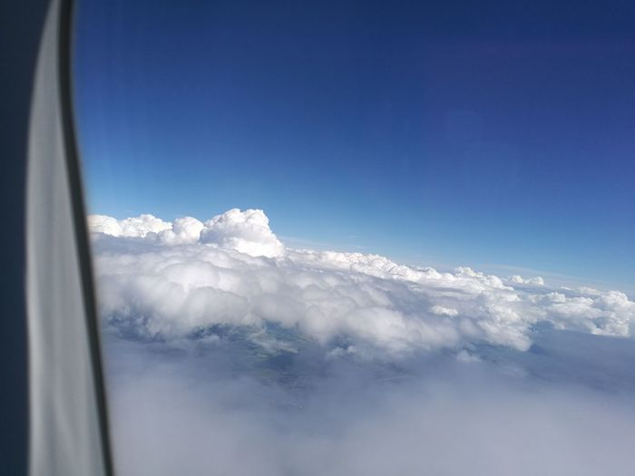 Cold Temperature No People Sky Nature Blue Tranquility Cloud - Sky Scenics Outdoors Beauty In Nature Clouds And Sky Plane Window
