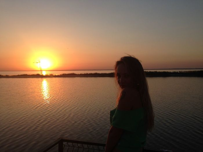 Hello World Relaxing That's Me Enjoying Life Azovsea Seaside Sunset_collection Sunset Summertime Stopping Time