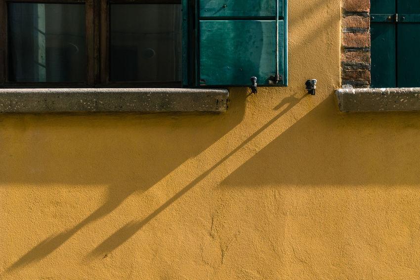 Architecture Burano, Venice Colors Italia Shadow And Light Travel Travel Photography Venezia Venezia, Italia Venice, Italy Building Exterior Built Structure Burano Color Colorful Italy Outdoors Photography Real People Shadow Streetscape Sunlight Venice Window Yellow