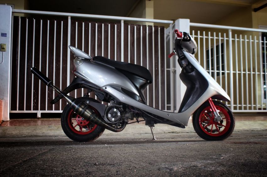 Thailand Hamtaro_racing Scooter_thailand Scootet_racing 2t_racing Yahama Jog Zr_evo