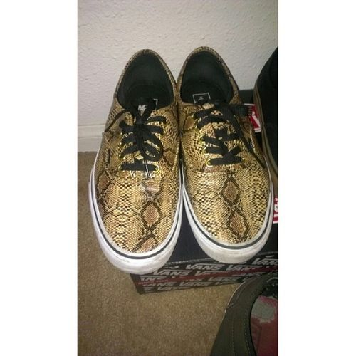 These are some sick shoes. Vans Snakeskins