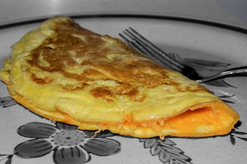 Cheese omelet, yummy! Food Foodie Selective Color Cheese! Omelette