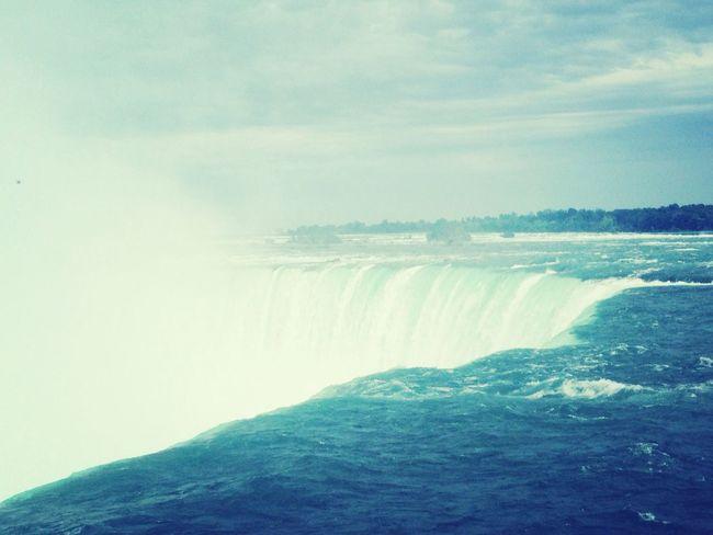 Gorgeous sight Waterfall Breathtaking Niagara Falls Hello World