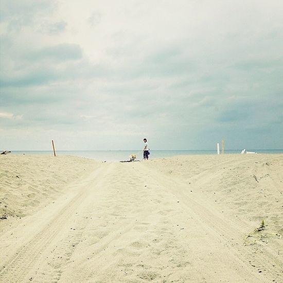 Beach Nature Sky Minimalism
