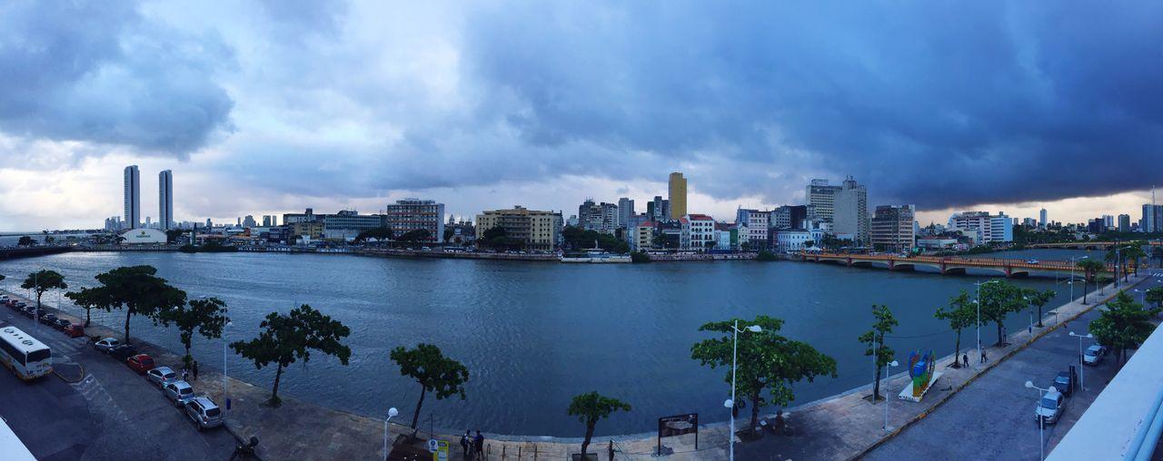 Vista do Paço Alfândega, Recife. #njoas #recife #sextafeira #paçoalfândega No People Cloud - Sky City Cityscape