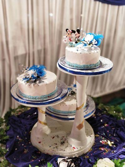 wedding cakes are my favourite!! Wedding Cake Fun Cake Three Tier Cake EyeEm Selects Sweet Food Dessert Indulgence Food And Drink Cake Food Indoors  Celebration