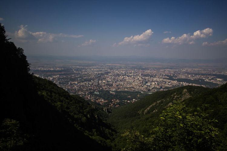 View From Above View City Jungle Sofia Djungla Sofia, Bulgaria Jungle City