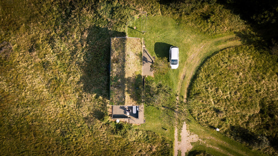 Coastal View from Denmark DJI Mavic Pro Drone  Morning Light Adventure Cabin Cabin In The Woods Car Day Dji Drone Photography Dronephotography Droneshot Dronsh Grass High Angle View Mountain Nature No People Outdoors Road