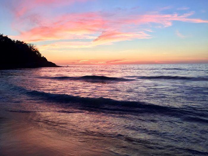 Sand Waves Sea