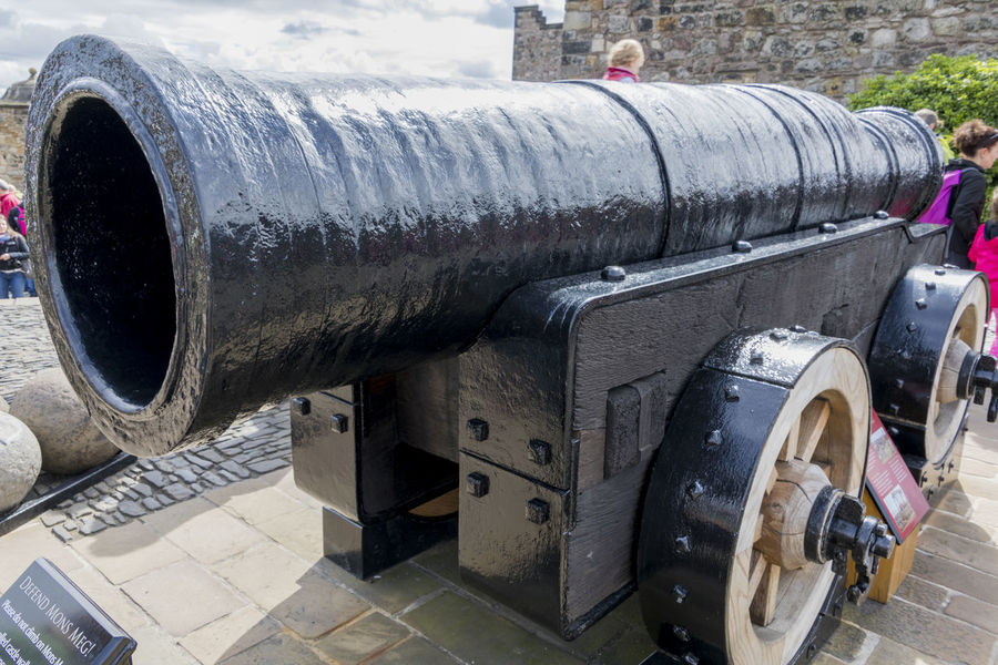 EyeEm Selects History Weapon Cannon Day Military Outdoors War No People Scotland Edinburgh Edinburgh Castle Castle