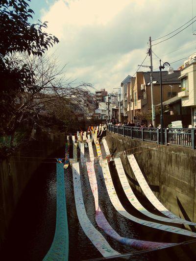 染の小道 / Installation of japanese Textile