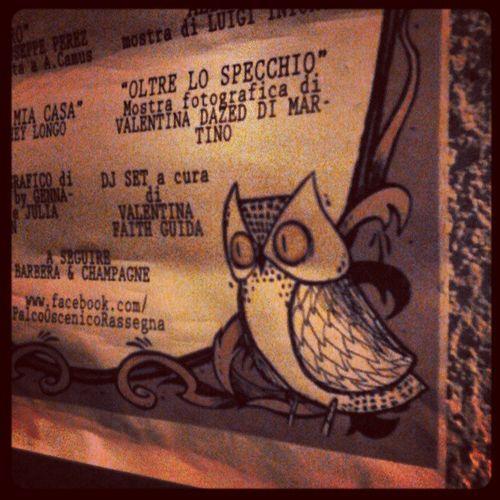 Palco Oscenico e il mio nome in cartellone! Owl Teatro