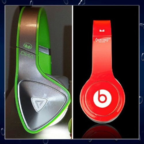 Inmydna BEATS almost time my aunt between these two Monsterdna Dna headphones followers followme like