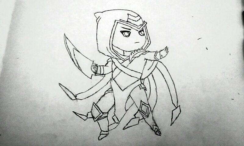 LeagueofLegends League Legends Talon Drawing ArtWork