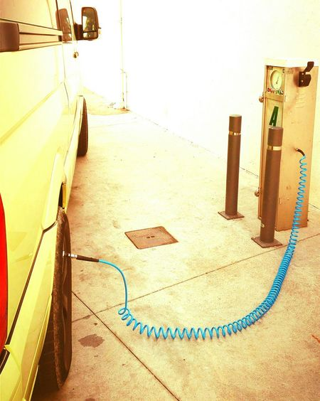 Pressure, always pressure... Escape Holidays Km Road Roadtrip Road Trip Escaping Holiday Yellow Blue EyeEm Selects CaMpEr LiFe... Westfalia Pressure Under Pressure No People