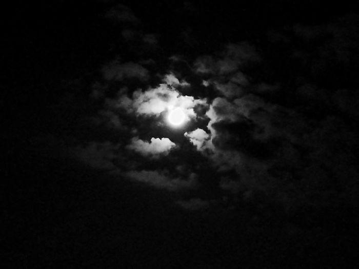 Night Cloud - Sky Moonlight Nature Sky Cityskyview