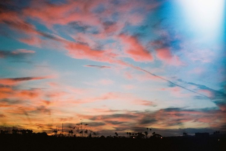 Skies of California Sky And Clouds Skyporn Sunset Pink California