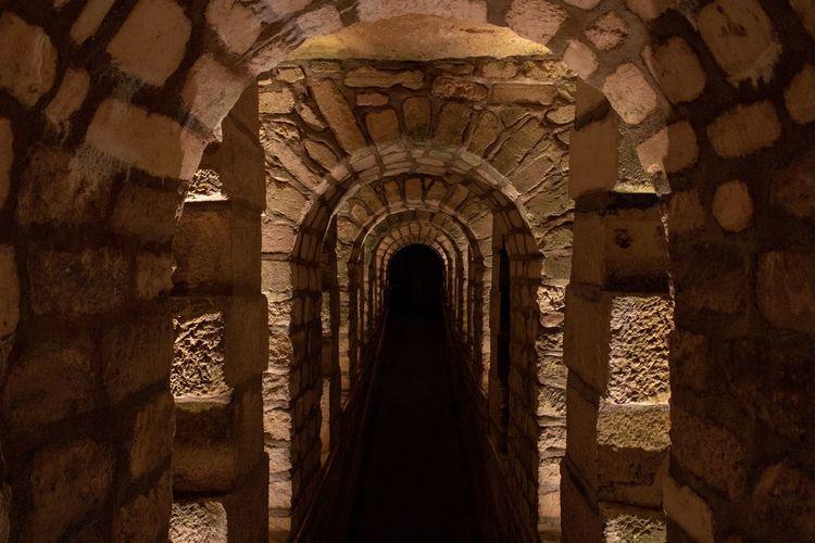 A passageway in