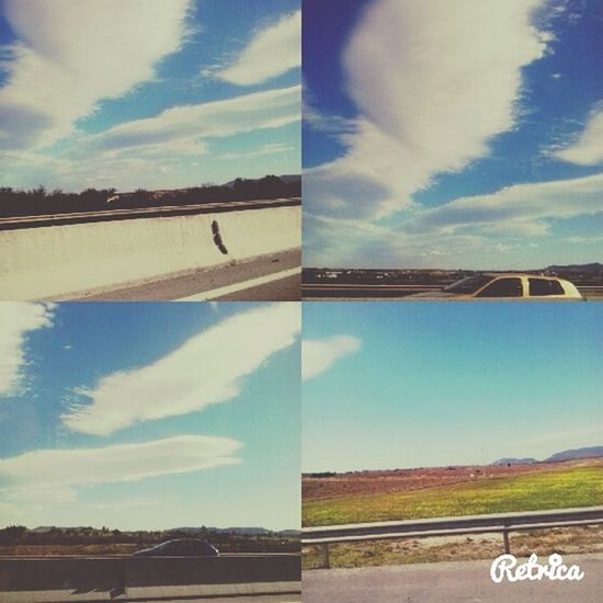 Traveling through countryside in north Tunisia <3