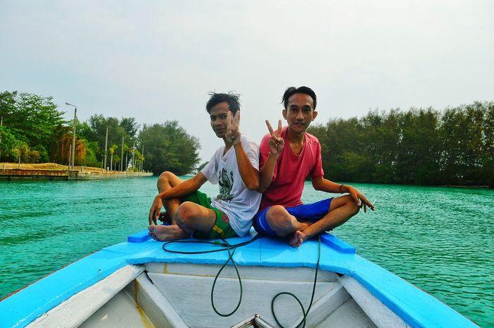 Keliling kepulauan seribu Photographer Beachphotography Taking Photos Bestfriend Peace ✌ Beautiful Indonesia