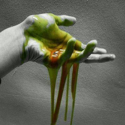 I Sneezed Green Slime Sick Booger