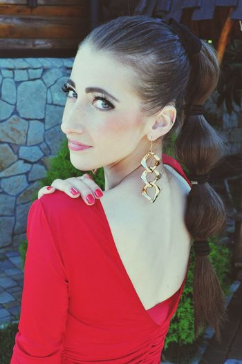 Eye4photography  Выпуск2014  Red Dress ♡ Red Lips