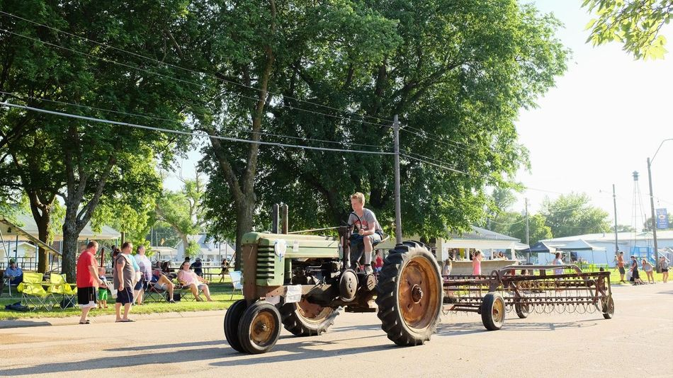 Old Settlers Picnic - Village of Western, Nebraska July 21, 2018 Americans Camera Work Community Event Farmer Getty Images Photo Essay Rural America Village Of Western, Nebraska Visual Journal Watching A Parade Antique Tractor City Day Domestic Animals Elementary Age Eye4photography  Group Of Animals Group Of People Incidental People Land Vehicle Livestock Long Form Storytelling Mammal Men Mode Of Transportation My Neighborhood Old Settlers Picnic Old Settlers Picnic 2018 Outdoors Parade People Photo Diary Plant Real People Road S.ramos July 2018 Small Town Stories Street Streetphotography Summer Transportation Tree